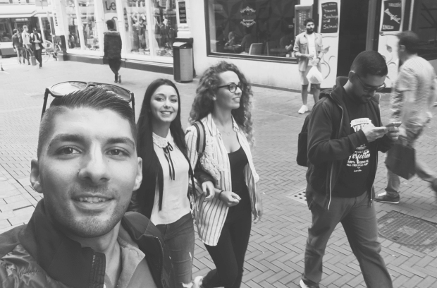 Finding our way around Amsterdam. byamandalia