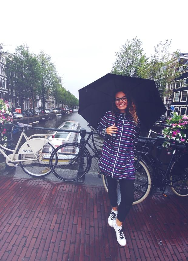 Rainy day in Amsterdam. byamandalia