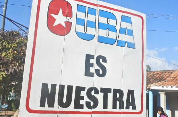 Cuban billboard