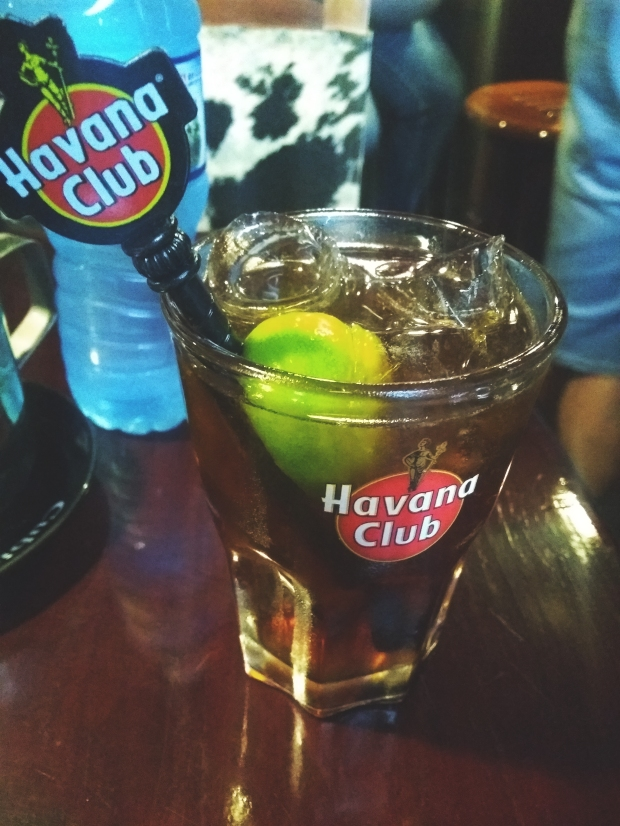 You cannot not have a Cuba Libre